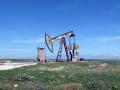 Rojava ist die ölreichste Region Syriens. Wegen der andauernden Kämpfe und dem Embargo der Türkei, aber auch der kurdischen Regionalregierung im Nordirak, kann das Öl nicht abtransportiert werden. Die meisten Förderanlagen stehen still (Foto: Loesche)