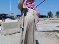 Ein arabischer Bewohner der Stadt Qamishli, der größten Stadt des kurdischen Autonomiegebiets im Nordosten Syriens (Foto: Loesche)