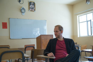 Der Dozent im Nordirak (Foto: Boris Niehaus)
